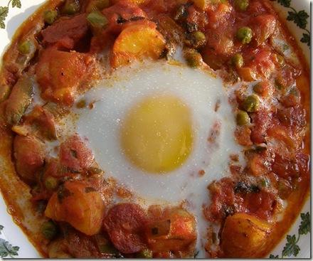 Foto nº1 de Huevos a la flamenca