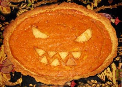 Foto de Tarta de calabaza Halloween