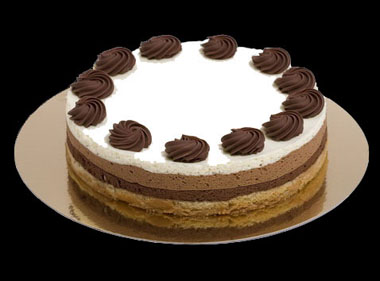 Foto de Tarta triple chocolate (Thermomix)