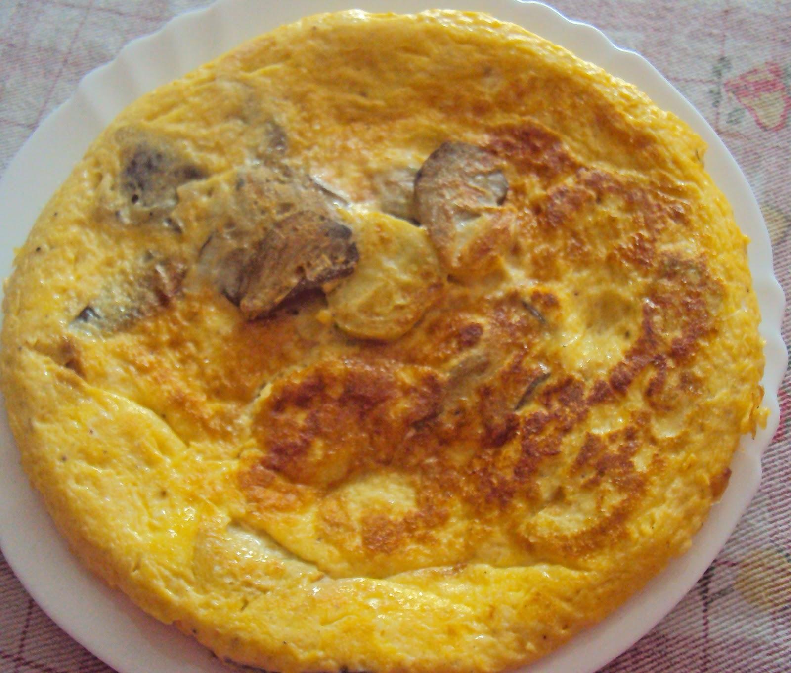 Foto de Tortilla de setas y calabacin