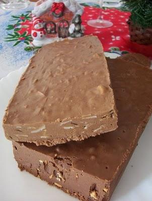 Foto de Turrón de chocolate