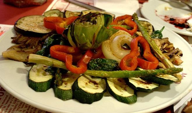 Foto de Verduras a la plancha